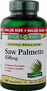 Saw Palmetto 450mg 250caps Natures Bounty