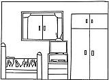 quarto aluga se mobiliado para 1 pessoa