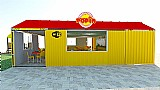 Container Fast Food