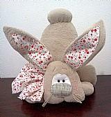 Coelhao Decorativo Em Feltro E Manta Dadimel Presentes