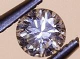 Diamante 0.26k brilhante redondo vvs k 4.11 - 4.18 x 2.58 mm