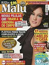 Fios Hidratados Durante Banho,  Adriana Birolli,  Revista Malu nº 402,  Edicao Especial