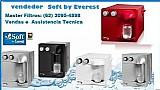 Purificadores de agua soft everest