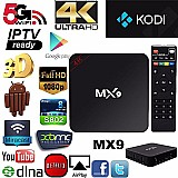 Google Tv Box Mx9 4k Android 6.0 Smart Usb Netflix Youtube P