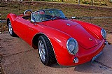 Porche Spyder 550 0 der 550 vermelho