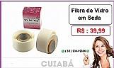 Bazar mt - fibra de vidro em seda caixa c/ ( 1 metro ) ( cuiaba )