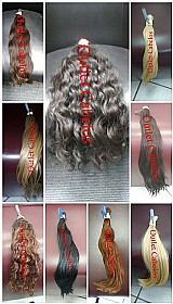 Cabelos e mega hair