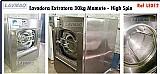 Lavadora extratora 30kg marca mamute para lavanderia industr