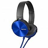 Fone de ouvido sony headphone extra bass mdr-xb450ap bom