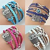 Bracelete de couro frete gratis