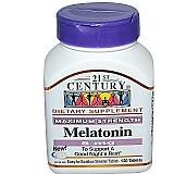 21st century,  melatonina,  5 mg,  120 comp,  a pronta entre