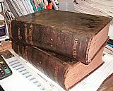 Dicionario chernoviz Medicina popular -1890 - 2 vol - Rarida