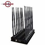 Bloqueador de celular / escutas / comunicacoes 16 antenas (b