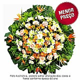Coroa de flores velorio cemiterio em vespasiano r$ 190,  00   floricultura vespasiano,  cemiterio vespasiano,  velorio vespasiano mg