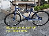 Vendo 1 bicicleta modelo prince cor azul marinho