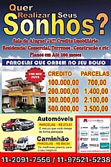 Cartas de crédito todo brasil