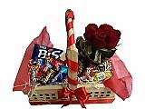 Cesta de chocolates para dia dos namorados na vila uniao-(11)2606-0490
