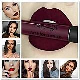 Lip Gloss Mate  Tentacao vermelho sexy 18 cor fosco gloss sexy liquido lip gloss mate de longa duracao à prova d água cosmeticos beleza maquiagem lipgloss