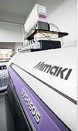 Impressora mimaki jv5 e jv300
