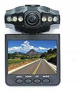 Camera filmadora veicular frontal com tela 12v marca dvr cam 2 modelo dvr cam 2