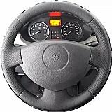 Capa de volante costurada sandero e logan ate 2014 marca renault numero de peca 001