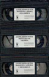 Colecao as grandes maravilhas do mundo - 3 fitas em vhs - pra quem possui aparelho de video-cassete