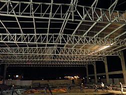 Estrutura Metalica - Coberta com Telhas de Aluminio