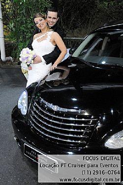Aluguel PT Cruiser para Casamentos  Debutantes  Noivas