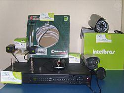 Kit CFTV DVR Stand Alone Cameras RJ