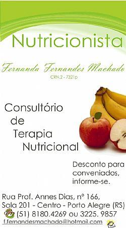 Consultorio de terapia Nutricional - NUTRICIONISTA