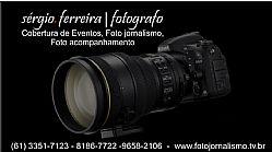 Fotografo e Cinegrafista em Brasilia