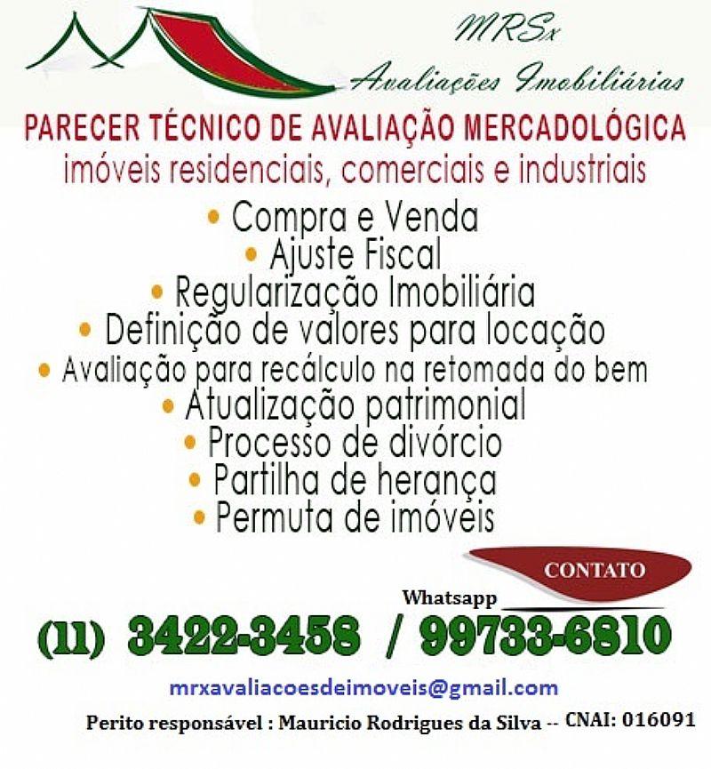 Avaliacao de imoveis e bens em Sao Paulo