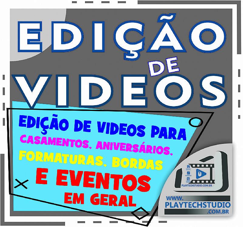 Edicao de videos e imagens