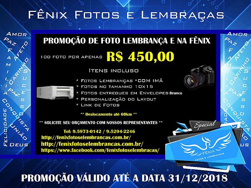 Promoção de foto lembrança