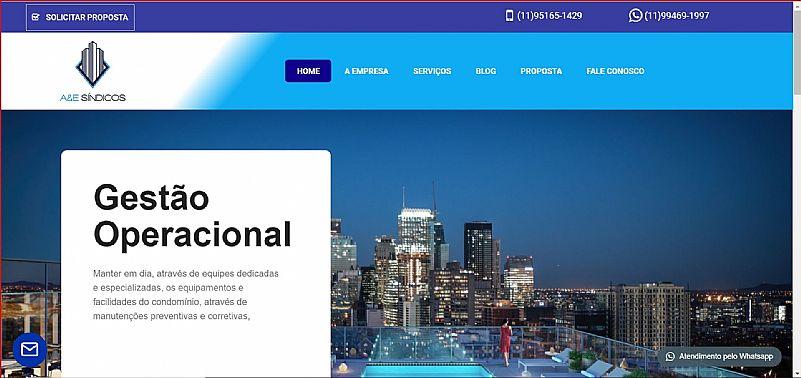 Desenvolvimento de sites e loja virtual e email profissional