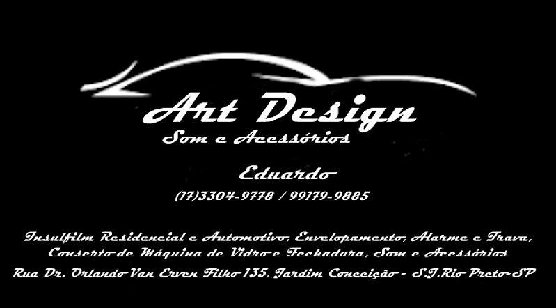 Art design som e acessorios