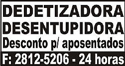 DEDETIZAÇÃO MATAR RATOS 28125206 BARATAS