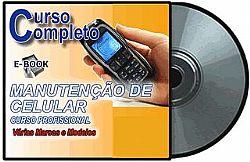 CURSO DE MANUTENÇÃO CELULAR EM CD EM VÍDEO AULA E APOSTÍLA