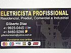 Eletricista Profissional parcela no cartao de credito