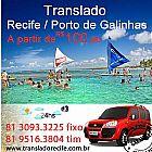 Aluguel de van em Recife com Motorista