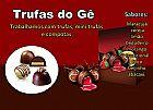 trufas para revenda, trufas e pirulitos de chocolate