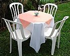 locacao de mesas e cadeiras toalhas e tampoes