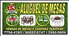 ALUGUEL DE CADEIRA DE FERRO E MADEIRA