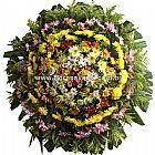 Velorio municipal barreiro de baixo bh - coroas de flores