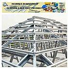 telhados em steel freame