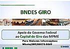 Emprestimo para empresas - capital de giro no bndes